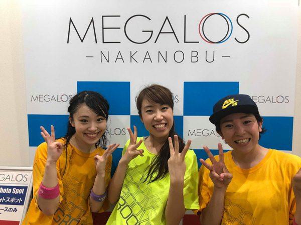 メガロス中延3周年イベント