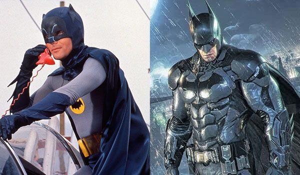 新旧バットマン