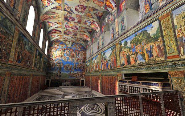 システィーナ礼拝堂
