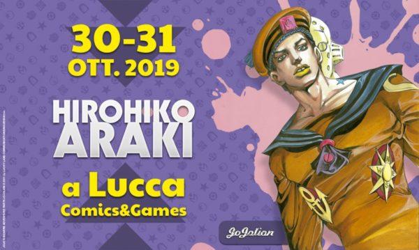 LUCCA2019 HIROHIKO ARAKI