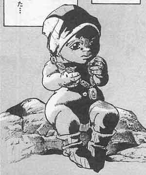 ジョジョリオン 宝石の赤ん坊