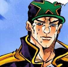 ジョジョの奇妙な冒険第6部ストーンオーシャン ケツアゴ承太郎